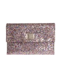 Anya Hindmarch | Multicolor Valorie Glitter Envelope Clutch | Lyst