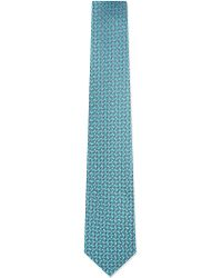 Charvet | Blue Abstract Mini Squares Silk Tie - For Men for Men | Lyst