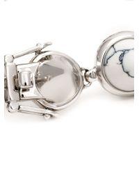 Eddie Borgo - Metallic Gemstone Cone Bracelet - Lyst