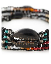Gas Bijoux - Multicolor Beaded Multi-strap Bracelet - Lyst