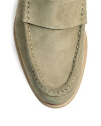 Pierre Hardy - Natural Suede Moccasins for Men - Lyst