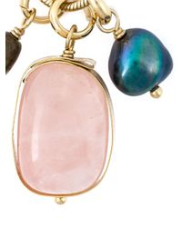 Isabel Marant | Metallic 'sandwich Stone Again' Necklace | Lyst