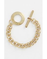 Marc By Marc Jacobs | Metallic 'toggles & Turnlocks' Link Bracelet | Lyst
