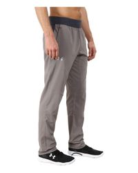 Under Armour - Gray Ua Circuit Woven Tapered Pant for Men - Lyst