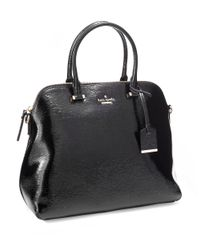kate spade new york | Black Cedar Street Patent Margot Bag | Lyst