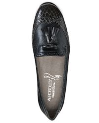 Aerosoles | Black Winning Bet Slip-On Loafers | Lyst