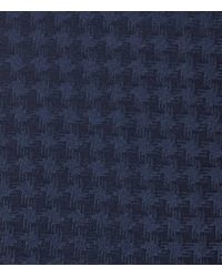 Reiss | Blue Franklyn Textured Silk Tie for Men | Lyst