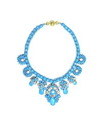 Shourouk - Blue Holy Brandeis Necklace - Lyst