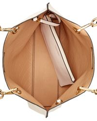 Calvin Klein - Natural Medium Quilted Reversible Tote With Pouch - Lyst