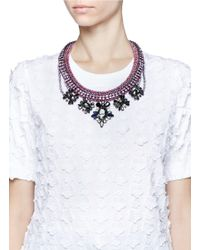 Venessa Arizaga - Purple 'gidget' Necklace - Lyst