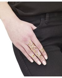 Arme De L'Amour | Metallic Set Of 4 Vine Rings | Lyst