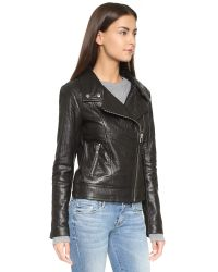 Mackage | Black Lisa Leather Jacket | Lyst
