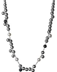 Links of London | Metallic Effervescence Sterling Silver Pearl Necklace | Lyst