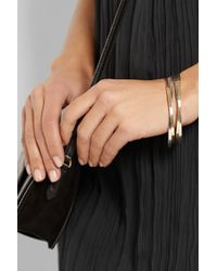 Inez & Vinoodh | Metallic 18-karat Gold And Sterling Silver Interlinked Bangles | Lyst