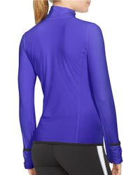 Lauren by Ralph Lauren - Purple Performance Jersey Pullover - Lyst