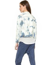 Bliss and Mischief | Blue Adam Jean Jacket - Superpunk Destroy | Lyst