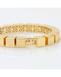 Eddie Borgo Metallic Small Cube Bracelet