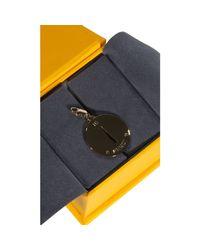 Fendi - Metallic Bijoux Charming Letter I - Lyst