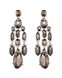 Alexis Bittar - Metallic Smoky Marquis Chandelier Earring You Might Also Like - Lyst