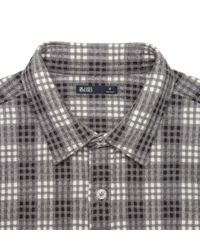 Onassis Clothing | Gray Plaid Heather Flannel Shirt for Men | Lyst