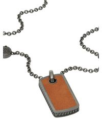 DIESEL - Brown Necklace Dx0909 for Men - Lyst