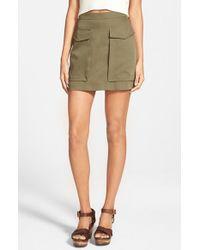 Soprano - Green Cargo Skirt - Lyst