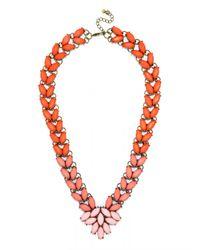 BaubleBar - Pink Marble Garland Brooch Collar - Lyst