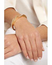Lynn Ban - Metallic 14-Karat Gold Diamond Bracelet - Lyst
