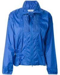 Adidas By Stella McCartney - Blue Performance Running Jacket - Lyst