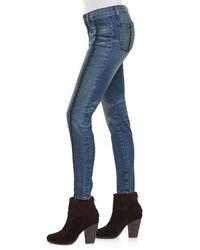 Rag & Bone - Blue Split Separating Legging Jeans - Lyst