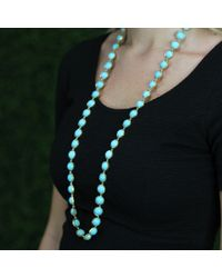 Irene Neuwirth - Blue Cabochon Turquoise Necklace - Lyst