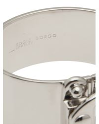 Eddie Borgo - Metallic Hook Latch Cuff - Lyst