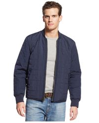 Tommy Hilfiger - Blue Sheridan Reversible Jacket for Men - Lyst