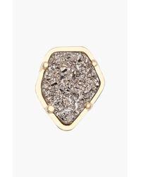 Kendra Scott | Metallic Stone Charm | Lyst