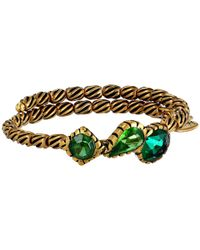 ALEX AND ANI | Green The Night'S Mosaic Coll. Treasure Trove Wrap Bracelet | Lyst