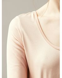 Free People | Pink Ballerina Crop Top | Lyst