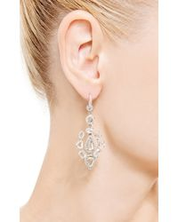 Nina Runsdorf | Metallic One Of A Kind Diamond Earrings | Lyst