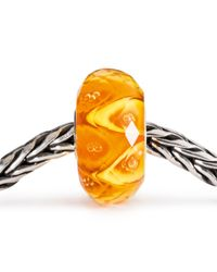 Trollbeads | Orange Luminous Delight Facet | Lyst