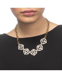 Lulu Frost | Metallic Atrium Necklace | Lyst