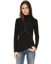 Jacquie Aiche | Metallic Diamond Body Chain | Lyst