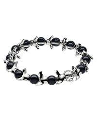 Shaun Leane - Black Serpents Trace Bracelet - Lyst
