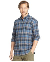 G.H. Bass & Co. | Blue Fireside Flannel Shirt for Men | Lyst