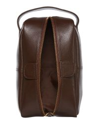 Howick | Brown Classic Leather Washbag for Men | Lyst