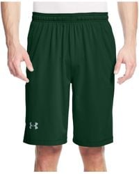 "Under Armour | Green Men's Raid Performance 10"" Shorts for Men 