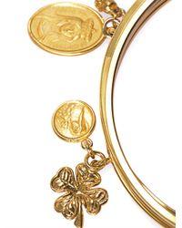 Dolce & Gabbana - Metallic Lazy Charm Bracelet - Lyst