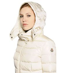 Moncler | White Sanglier Nylon Down Jacket | Lyst
