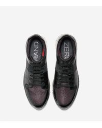 Cole Haan - Black Zerøgrand Sport Oxford for Men - Lyst