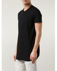 Julius - Black Long T-Shirt for Men - Lyst