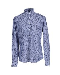 Xacus - Blue Shirt for Men - Lyst