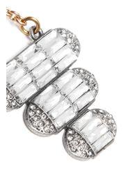 Lulu Frost - Metallic 'elizabeth' Crystal Tier Drop Earrings - Lyst